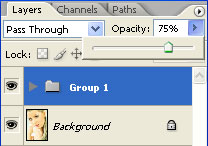 Layers Grouped