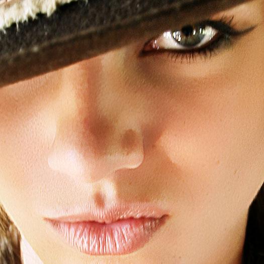 Airbrushing - Natrual Smooth Skin Photoshop Tutorial