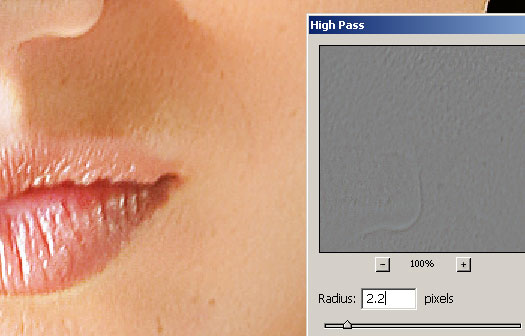 Photoshop High Pass Filter