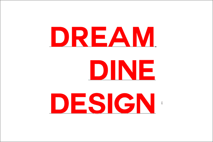 Dream Dine Design
