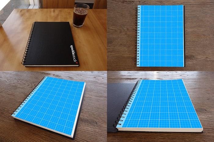 Sketchbook-Mockups