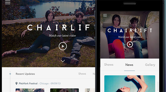 chairlift Mobile by Simeon K. - Dribbble\