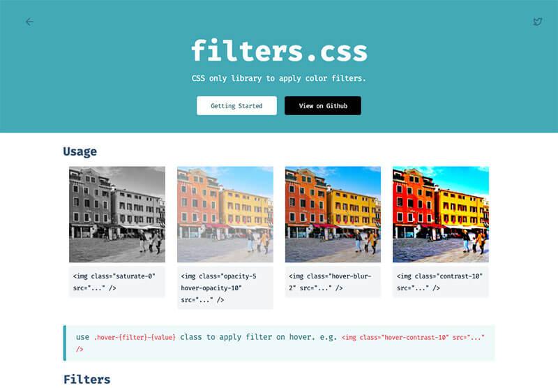 filter-css