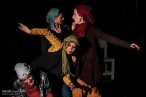 Tehran, Iran - Tehran, Theater - Virgule and Stets in London, Rome, Tehran, Amsterdam 00