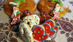 Esfahan, Iran - Esfahan, Armenians Christmas Season Food 01