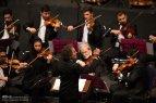Tehran, Iran - Shahrdad Rohani conducts orchest in Tehran 2015 Jan 17