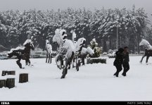 Iran, Kerman Winter Snow 06