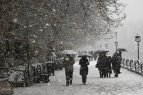 Snowfall in Tabriz Iran 2