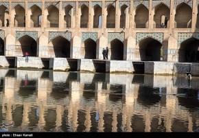 Zayanderud River in Iran's Isfahan Province 06
