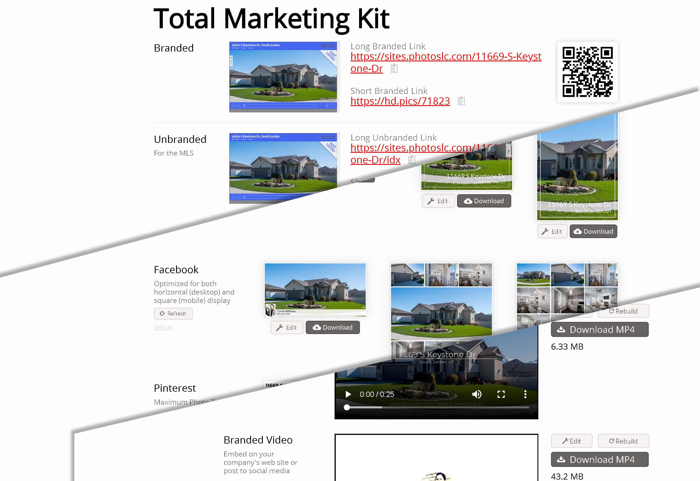 New Social Media and Video Marketing Kit