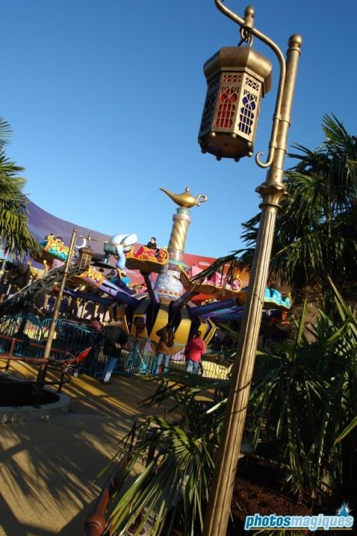 Flying Carpets over Agrabah