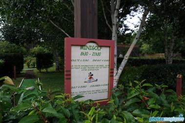 Disney's Davy Crockett Ranch mini-golf