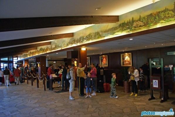 Disney's Sequioa Lodge reception