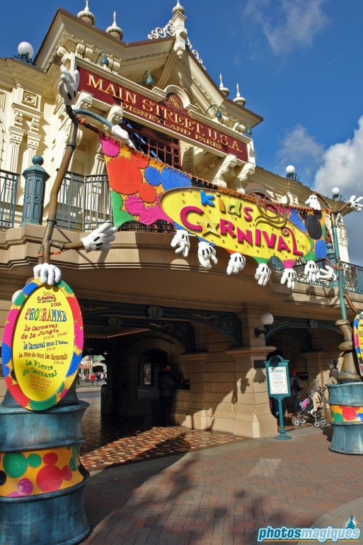 Main Street Station decorations