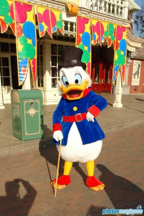 Carnival Fever: Scrooge McDuck