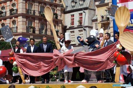 Place de Rémy official dedication