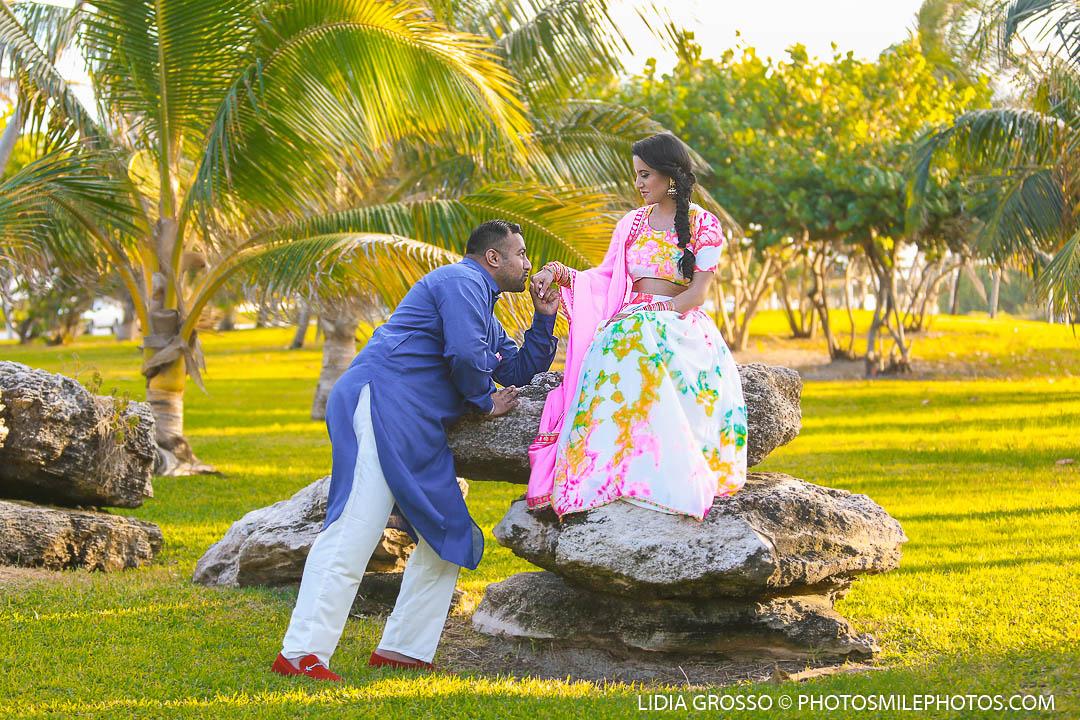 Tej And Garry Pre Wedding Photos Cancun Indian