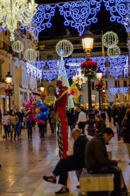 Noche de Malaga en Fiestas