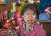 Marché de Chauk près de Bagan