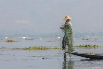 Pêcheur lac Inle