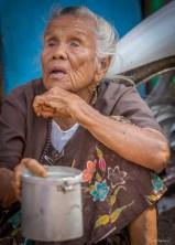 Mendiante Marché de Moulmein - Etat Môn
