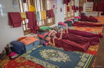Monastère de Shampoo island près de Moulmein