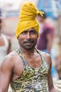 Porteurs Kolay market Calcutta Inde