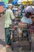 Triporteur Calcutta Inde