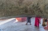 Intéreur de la cloche de Mingun Région de Mandalay