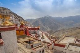 Monastère de Gyantse près de Lhassa - Tibet