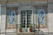 Balcon Azulejos - Lisbonne - Portugal