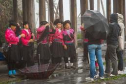 femmes de la tribu des Yao's - Lonsheng - Ping an - Chine