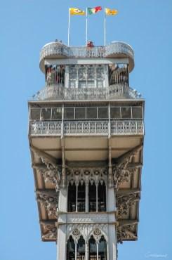 Ascenseur de Santa Justa - Lisbonne - Portugal