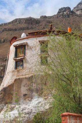 Monastère près de Purongka - Lhassa - Tibet