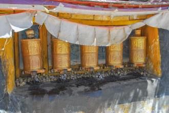 Moulins à prière - Drepung Monastery - Lhassa - Tibet