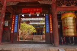 Temple près de Lijiang - Yunnan - Chine
