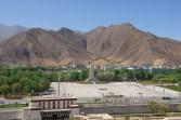 Place de la libération pacifique du Tibet - Lhassa - Tibet