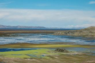 Paysage près du lac Titicaca - Pérou