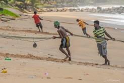 Pêche au filet à Tangalle -Sri Lanka