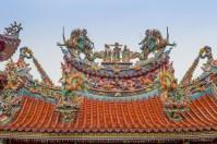 Toit du temple de Jiufen - Taiwan.