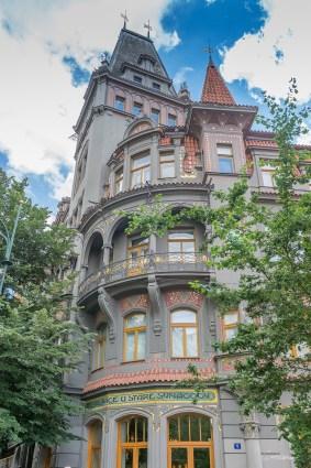 Quartier juif - Prague - République tchèque.