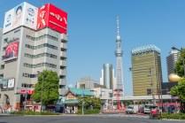 quartier d'Asakusa - Tokyo - Japon.