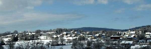 Cuvat sous la neige