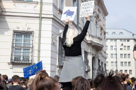 Demonstration und Stellungnahmen_90