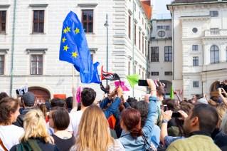 Demonstration und Stellungnahmen_98