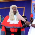 Yahaya Bello takes oath of office for 2nd term