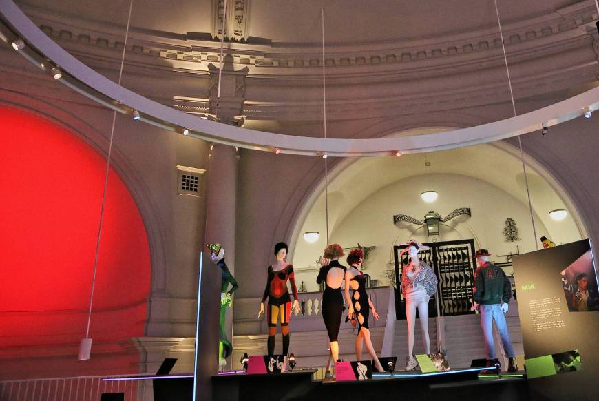 Fashion Show, Victoria and Albert Museum, London