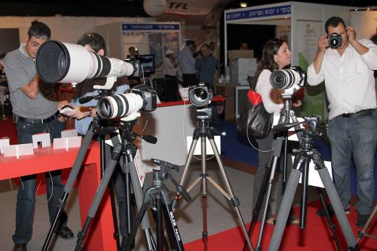 Canon Booth at Fiscom