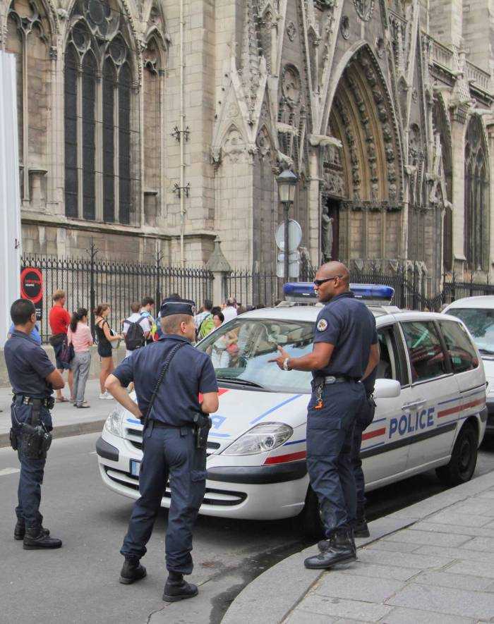 Terror Shadow Hangs Over Notre Dame de Paris