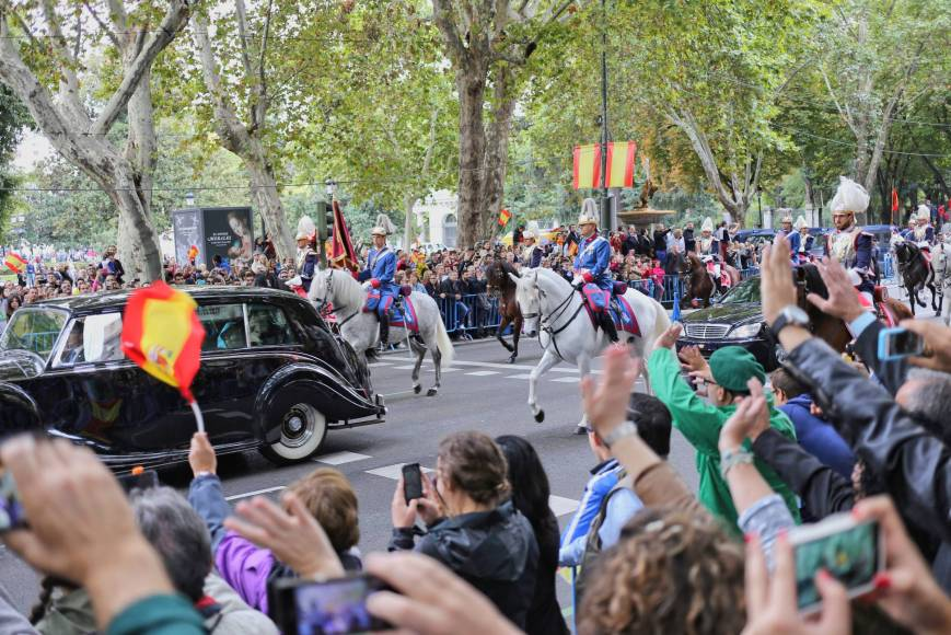 Spanish National Day Parade in Madrid